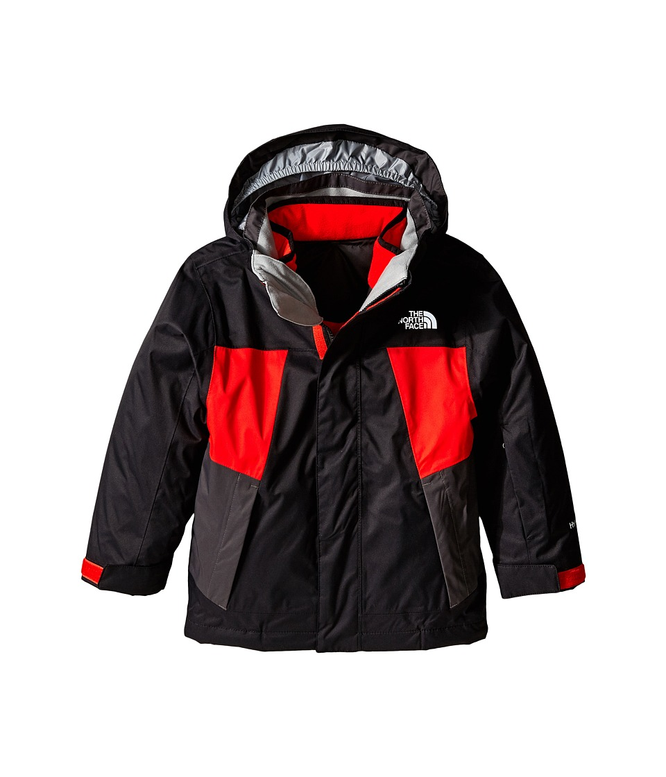 The North Face Kids - Abbit Triclimate Jacket (Little Kids/Big Kids) (TNF Black) Boy's Coat