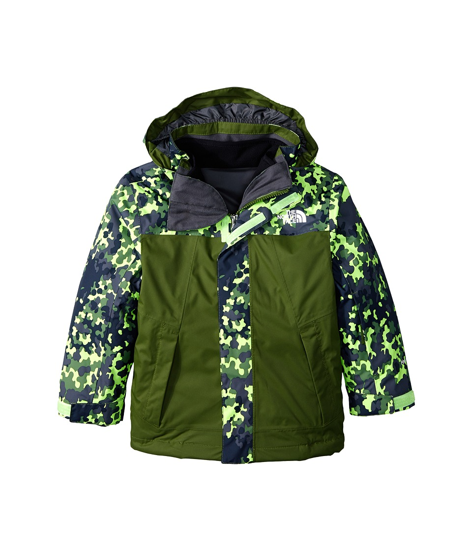 The North Face Kids - Abbit Triclimate Jacket (Little Kids/Big Kids) (Scallion Green) Boy's Coat