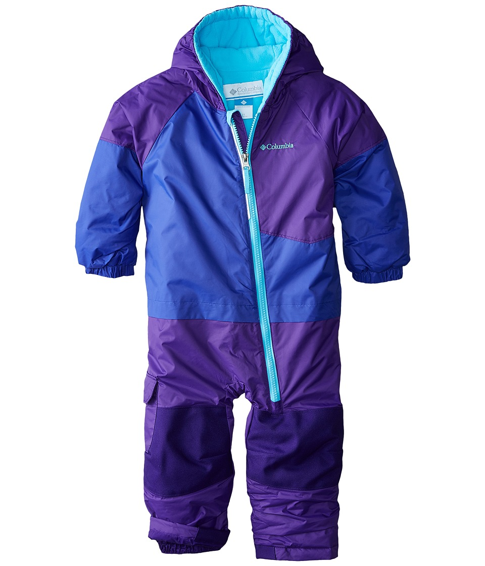 Columbia Kids - Little Dude Suit (Toddler) (Light Grape/Hyper Purple/Atoll) Kid's Active Sets