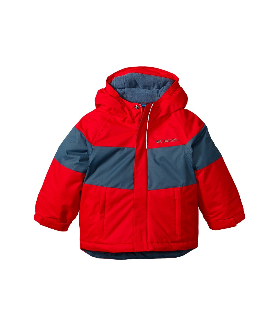 Columbia Kids - Alpine Action Jacket (Toddler) (Bright Red/Graphite) Boy's Coat