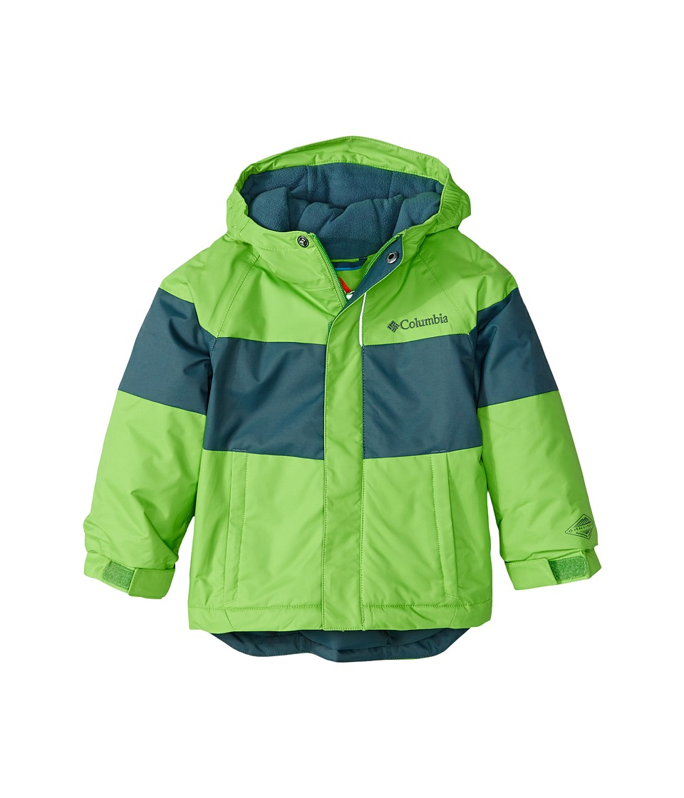 Columbia Kids - Alpine Action Jacket (Toddler) (Cyber Green/Graphite) Boy's Coat