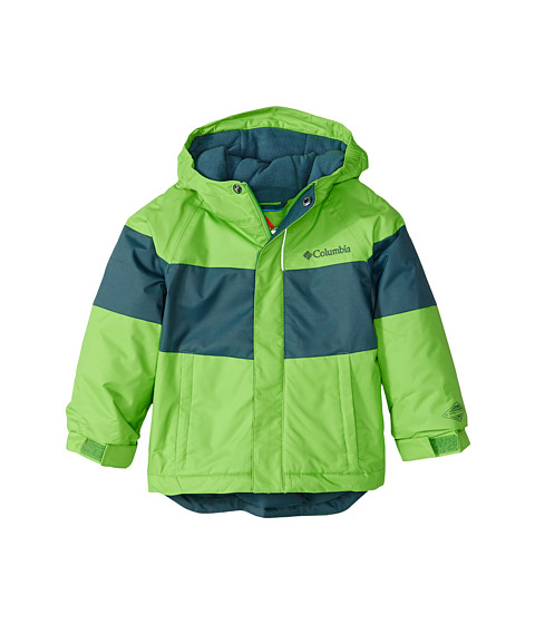 Columbia Kids - Alpine Action Jacket (Toddler) (Cyber Green/Graphite) Boy
