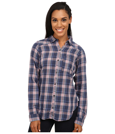Columbia - Piper Ridge Long Sleeve Shirt (Bluebell Plaid) Women's Long Sleeve Button Up