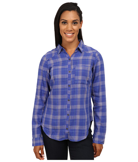 Columbia - Piper Ridge Long Sleeve Shirt (Purple Lotus Plaid) Women's Long Sleeve Button Up