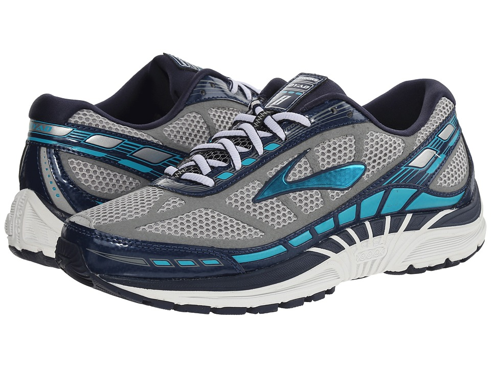 Brooks - Dyad 8 (River Rock/Blue Bird/Peacoat) Women's Running Shoes