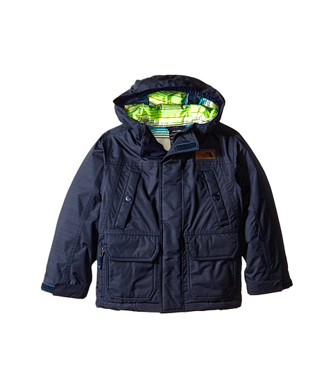 The North Face Kids - Baeker Insulated Jacket (Little Kids/Big Kids) (Outer Space Blue) Boy's Coat