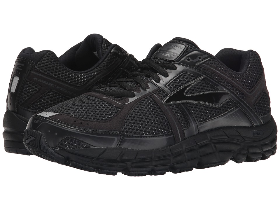 Brooks - Addiction 12 (Black/Anthracite ) Men's Running Shoes