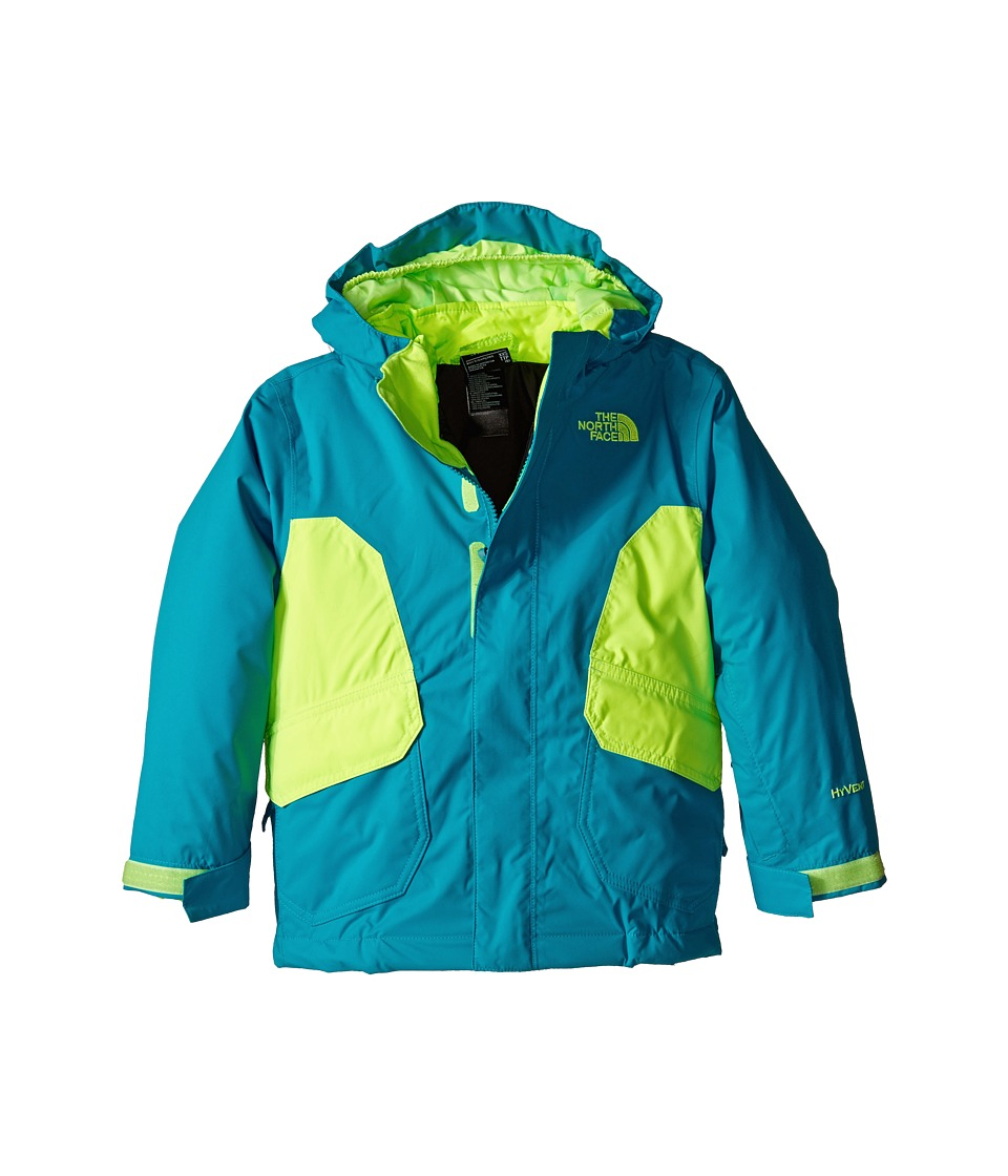 The North Face Kids - Boundary Triclimate Jacket (Little Kids/Big Kids) (Enamel Blue) Boy's Coat