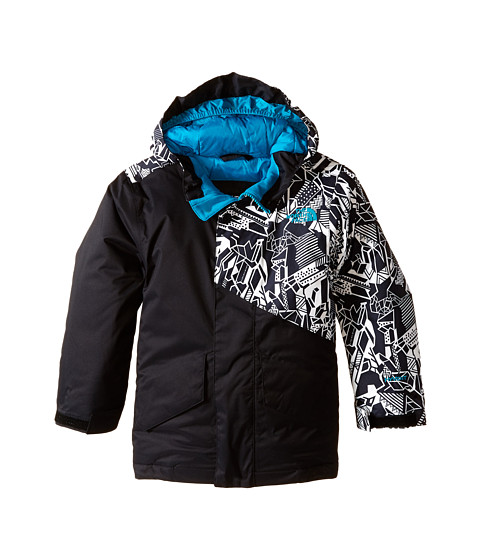 The North Face Kids - Calisto Insulated Jacket (Little Kids/Big Kids) (TNF Black) Boy