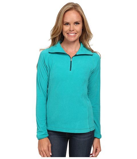 Columbia - Glacial Fleece III 1/2 Zip (Mayan Green) Women's Coat