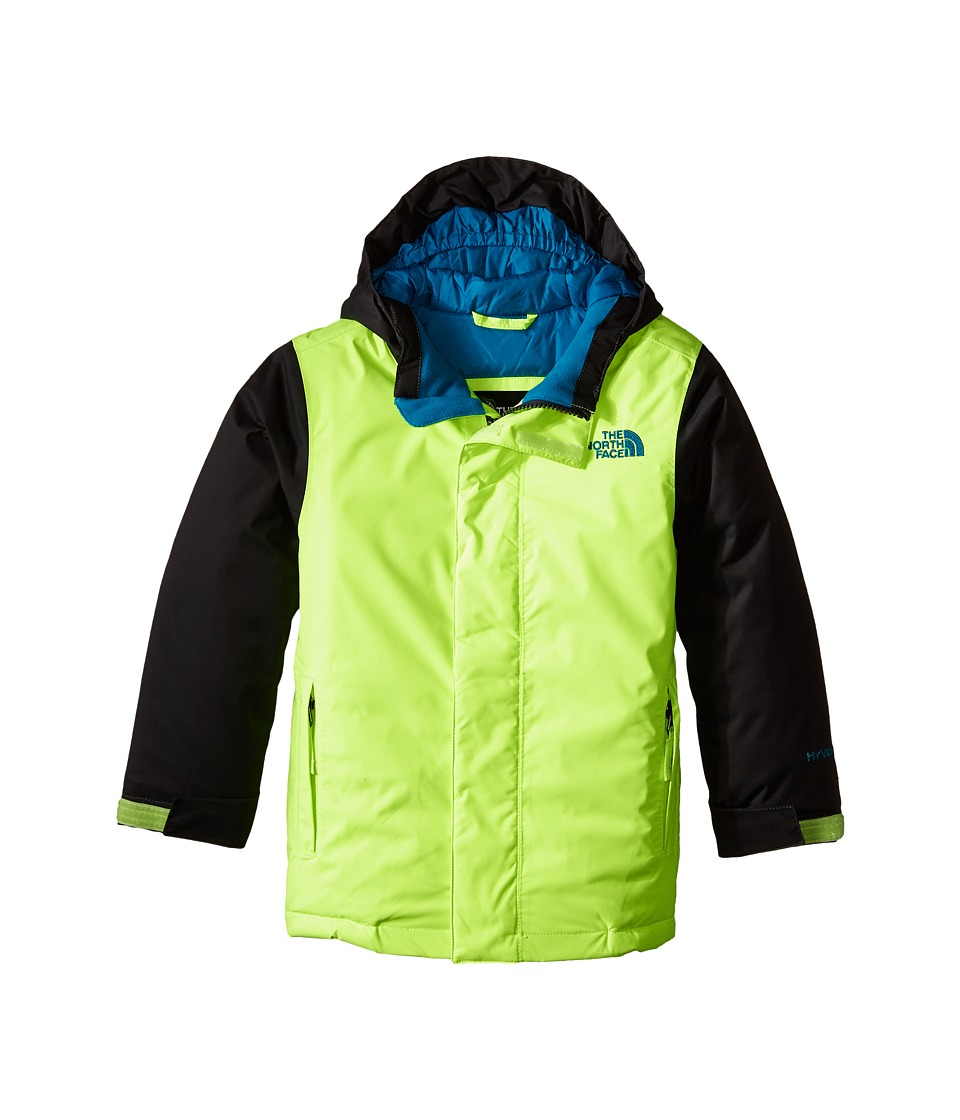 The North Face Kids - Darten Insulated Jacket (Little Kids/Big Kids) (Safety Green) Boy's Coat