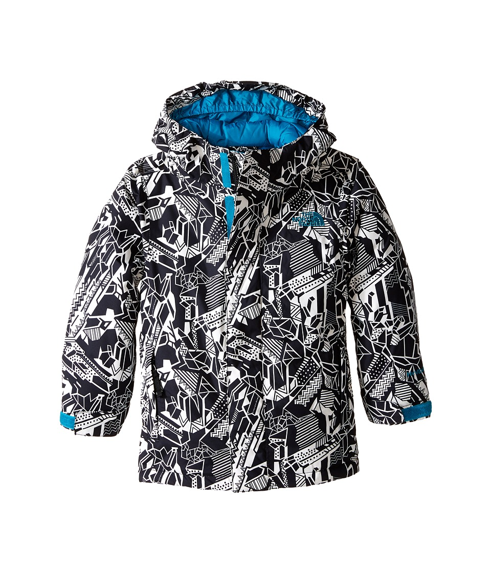 The North Face Kids - Darten Insulated Jacket (Little Kids/Big Kids) (Exploded Glacier Print) Boy's Coat