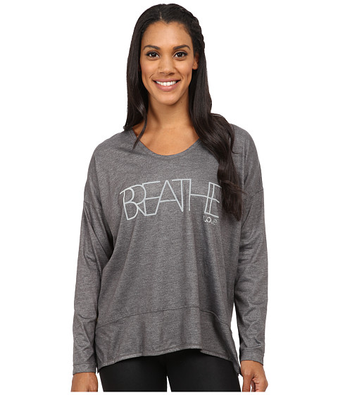 Lole - Indra Top (Dark Charcoal Breathe) Women's Long Sleeve Pullover