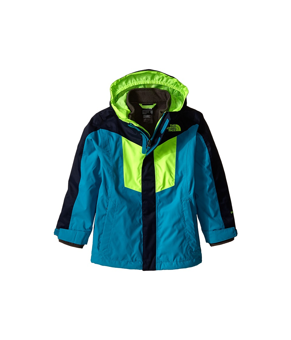 The North Face Kids - Vortex Triclimate Jacket (Little Kids/Big Kids) (Enamel Blue) Boy's Clothing