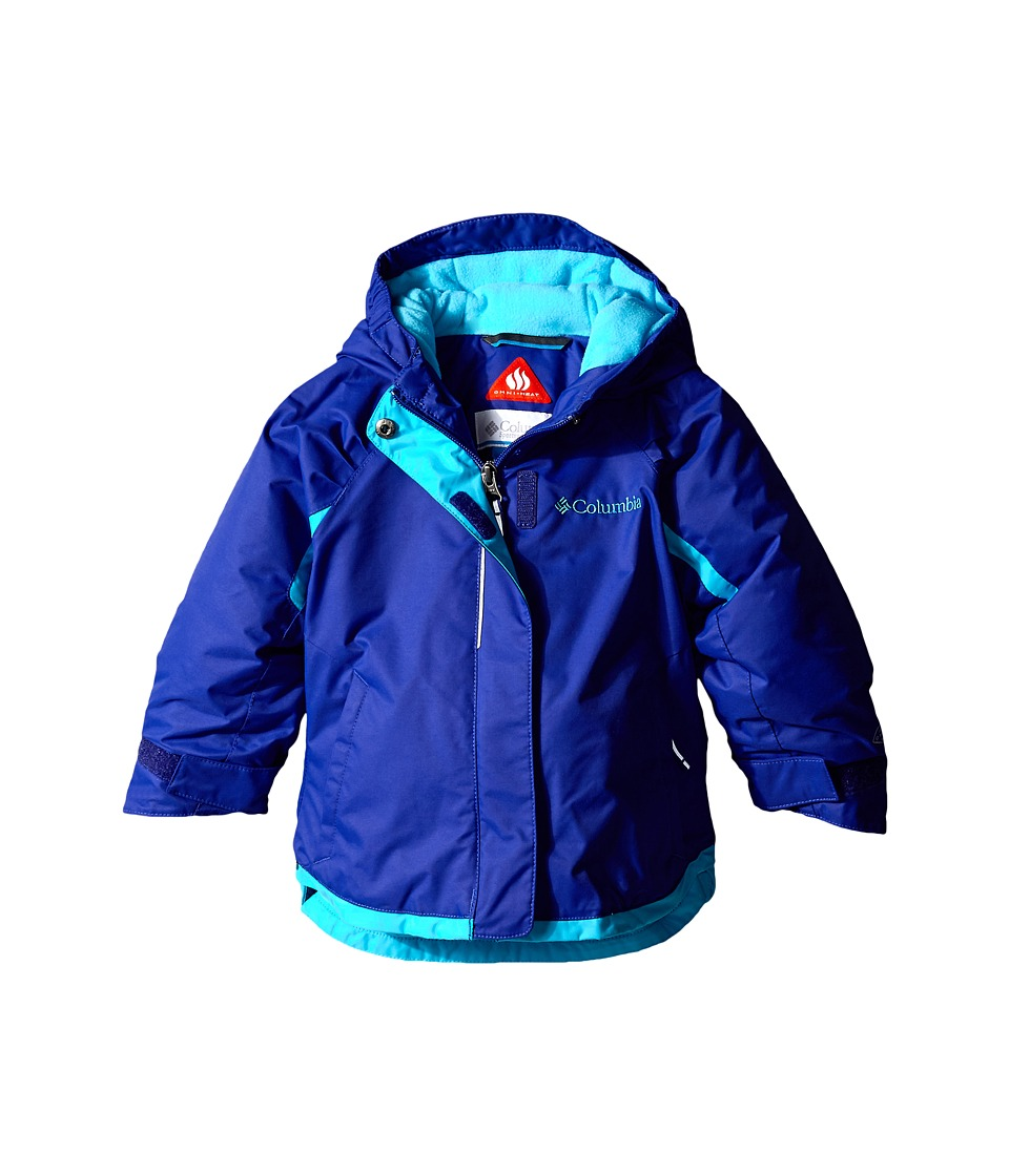 Columbia Kids - Alpine Action Jacket (Toddler) (Light Grape/Atoll) Girl's Coat