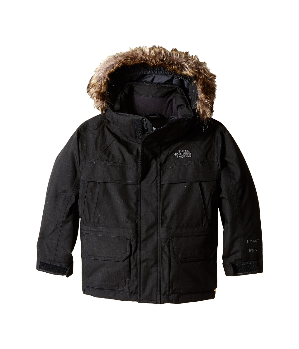 The North Face Kids McMurdo Down Parka (Little Kids/Big Kids) (TNF Black) Boy