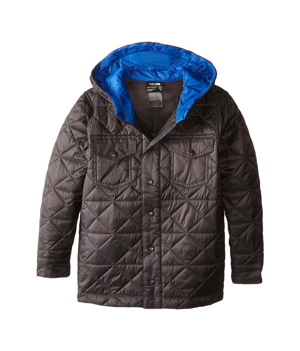 The North Face Kids - Hadden Shirt Jacket (Little Kids/Big Kids) (Graphite Grey) Boy's Coat