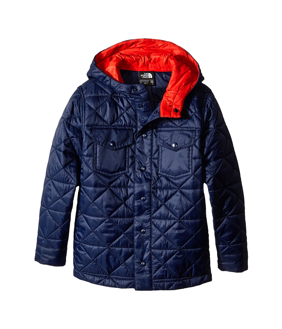 The North Face Kids - Hadden Shirt Jacket (Little Kids/Big Kids) (Cosmic Blue) Boy's Coat