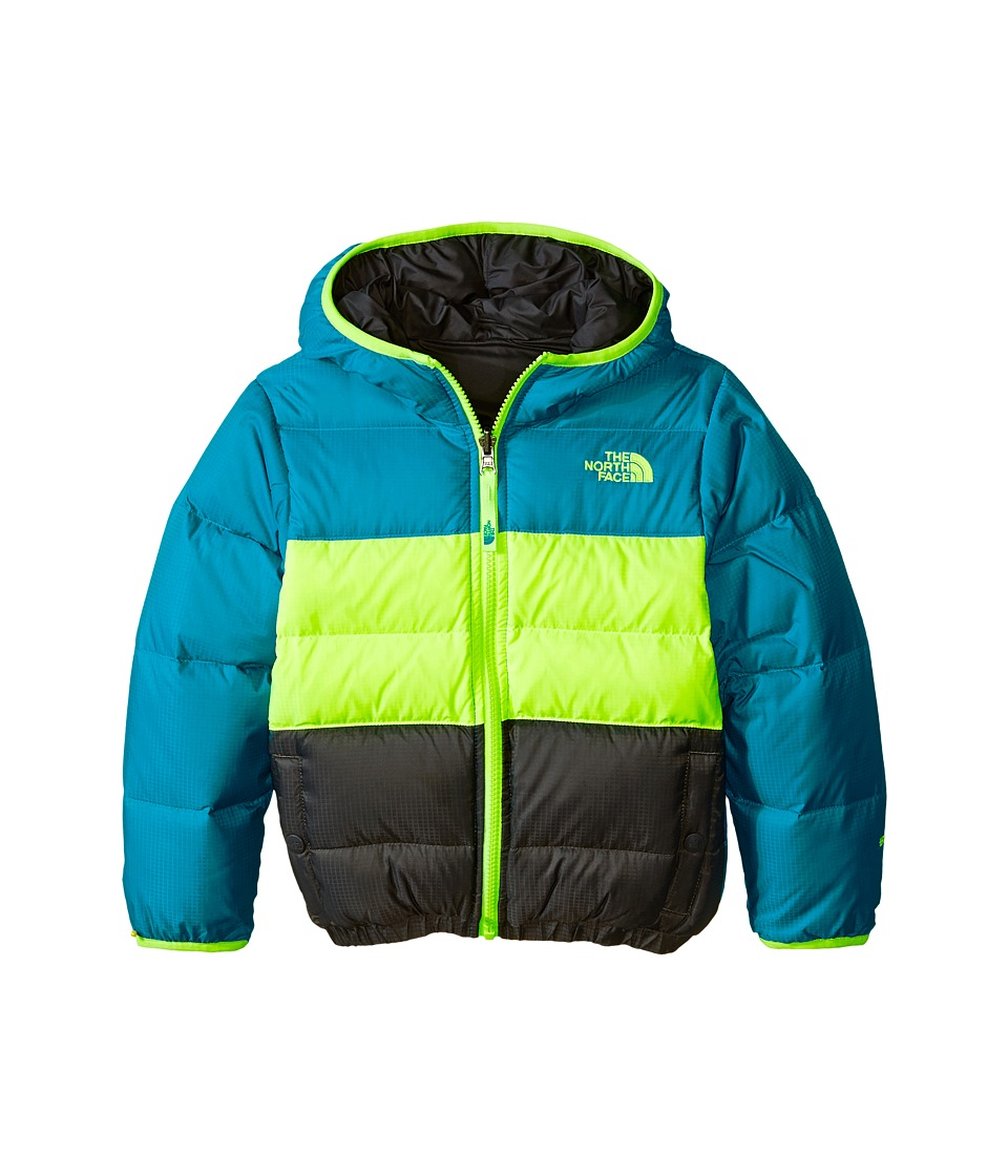 The North Face Kids - Reversible Moondoggy Jacket (Little Kids/Big Kids) (Enamel Blue) Boy