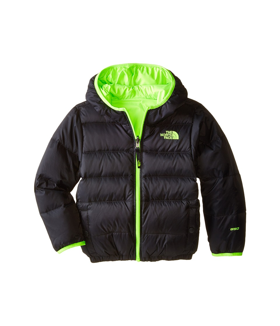 The North Face Kids - Reversible Moondoggy Jacket (Little Kids/Big Kids) (TNF Black) Boy