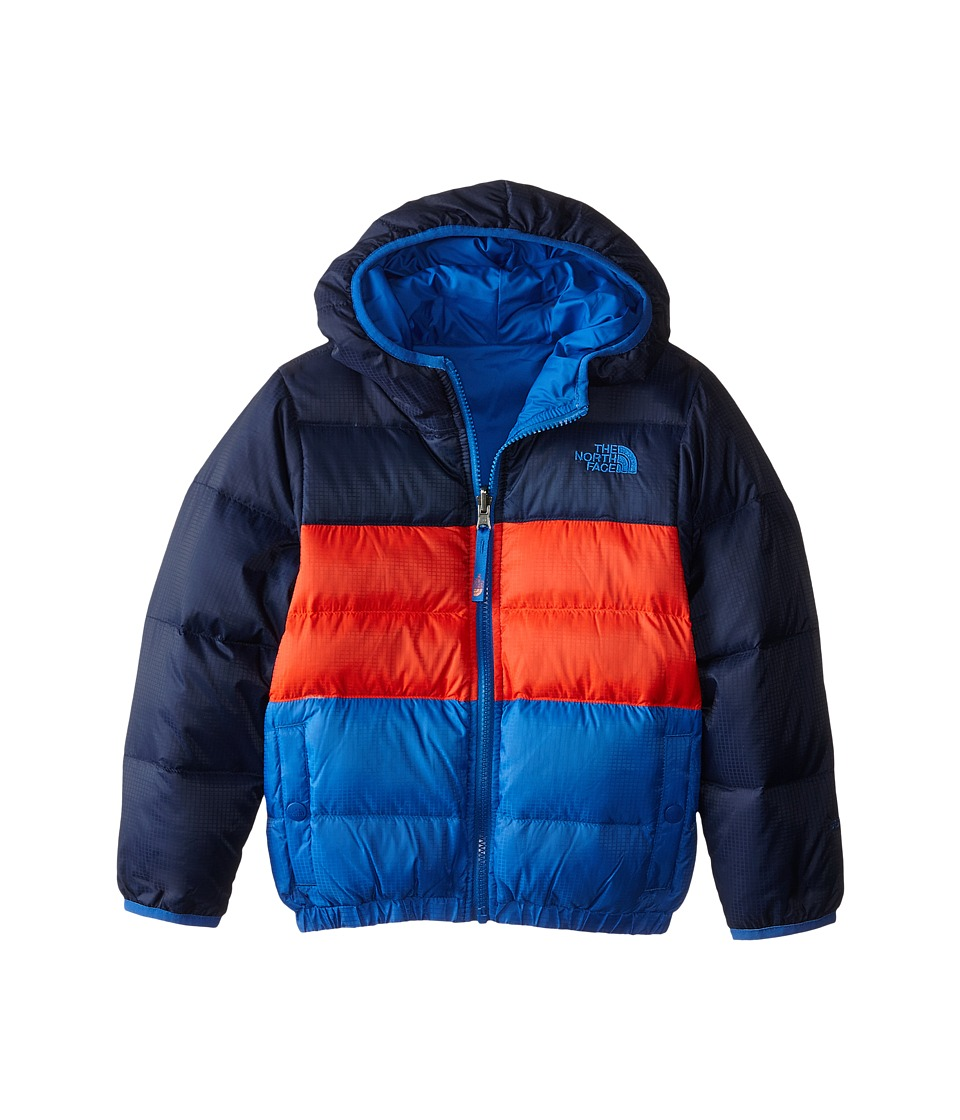The North Face Kids Reversible Moondoggy Jacket (Little Kids/Big Kids) (Cosmic Blue) Boy