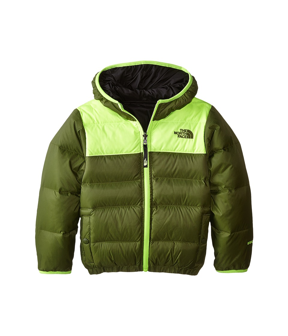 The North Face Kids - Reversible Moondoggy Jacket (Little Kids/Big Kids) (Scallion Green) Boy