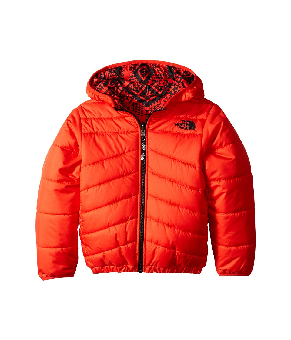 The North Face Kids - Reversible Perrito Jacket (Little Kids/Big Kids) (Fiery Red) Boy