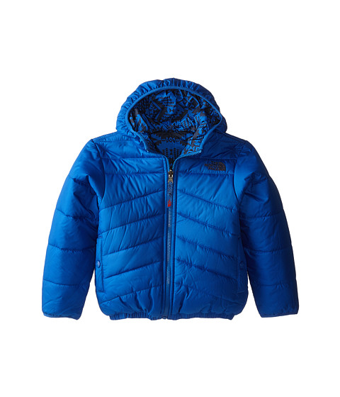 The North Face Kids - Reversible Perrito Jacket (Little Kids/Big Kids) (Monster Blue) Boy