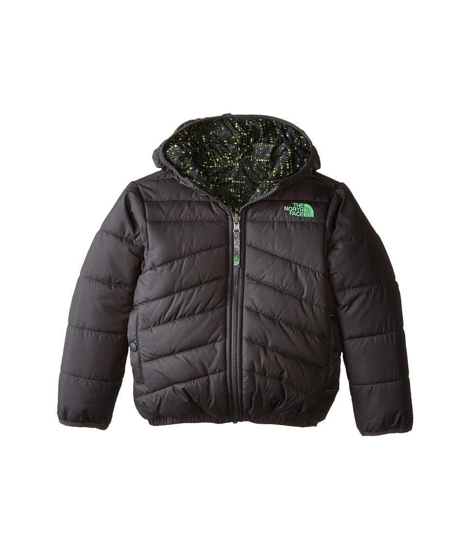 The North Face Kids - Reversible Perrito Jacket (Little Kids/Big Kids) (Graphite Grey) Boy