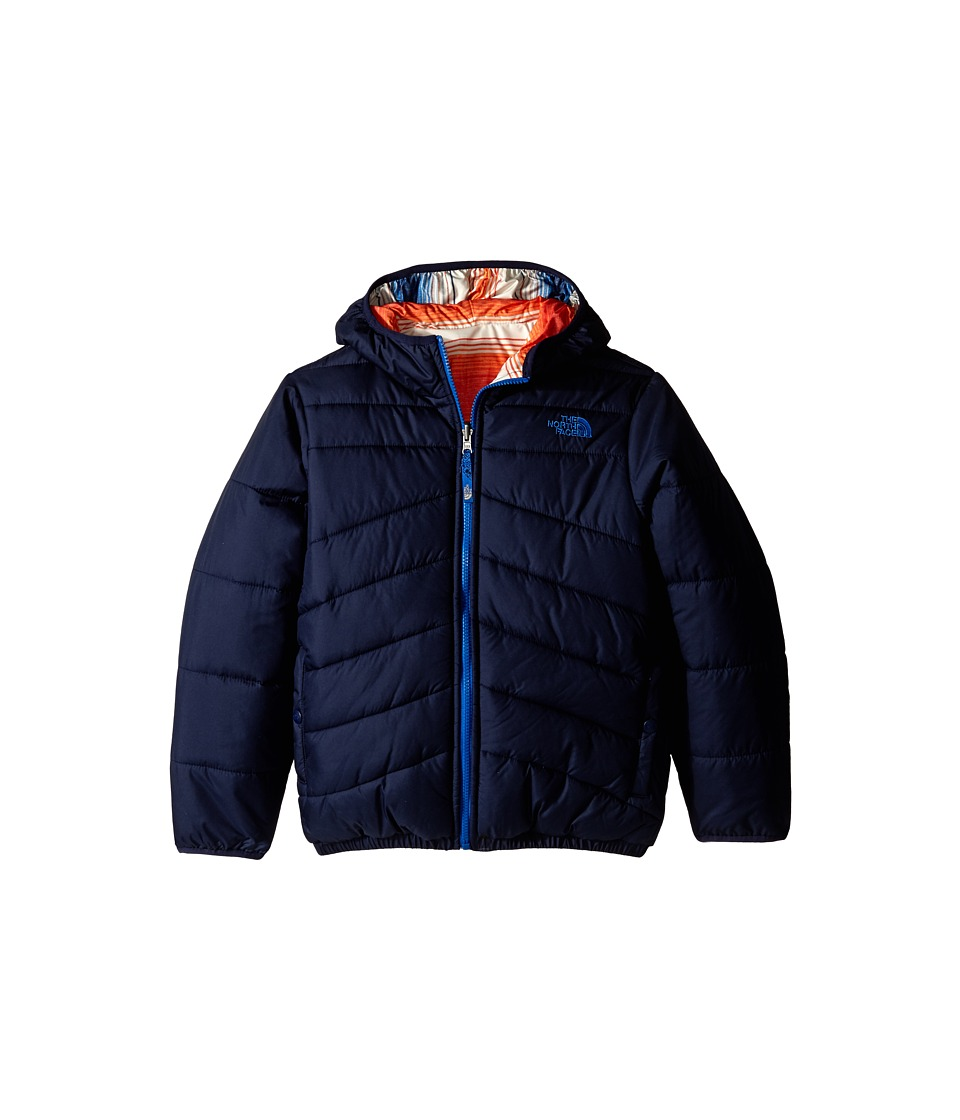 The North Face Kids - Reversible Perrito Jacket (Little Kids/Big Kids) (Cosmic Blue) Boy