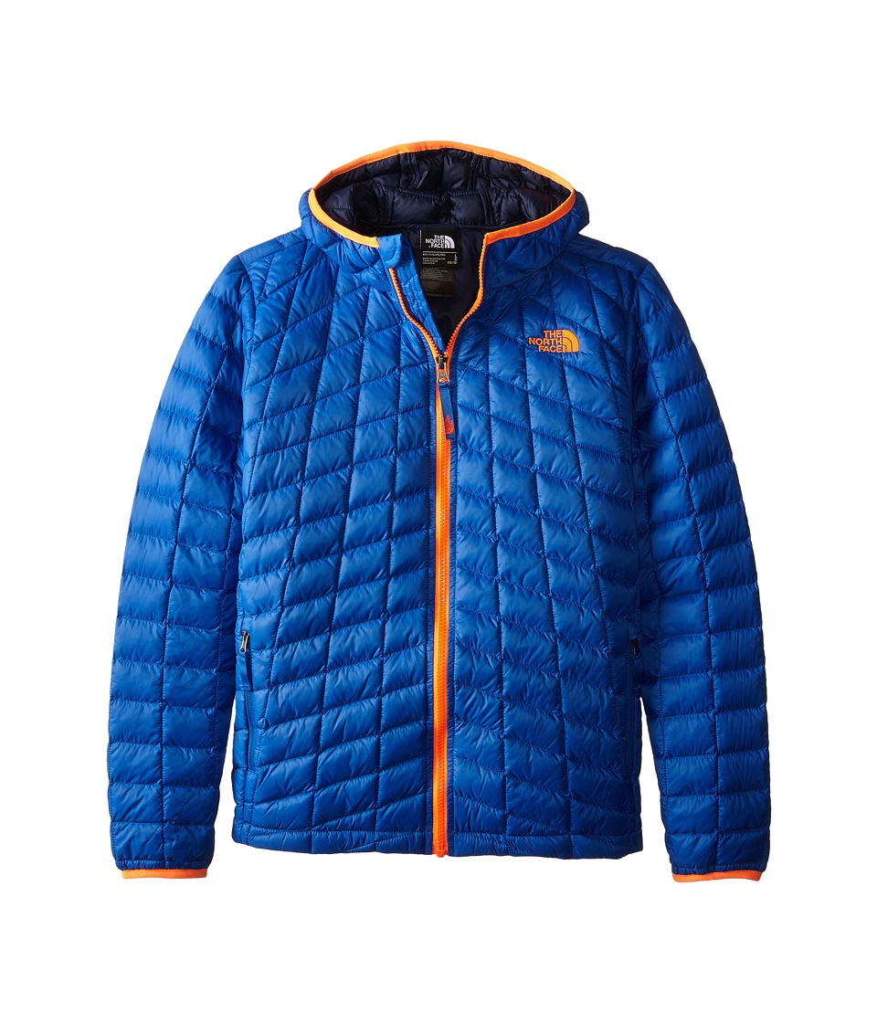The North Face Kids ThermoBall Hoodie (Little Kids/Big Kids) (Monster Blue) Boy