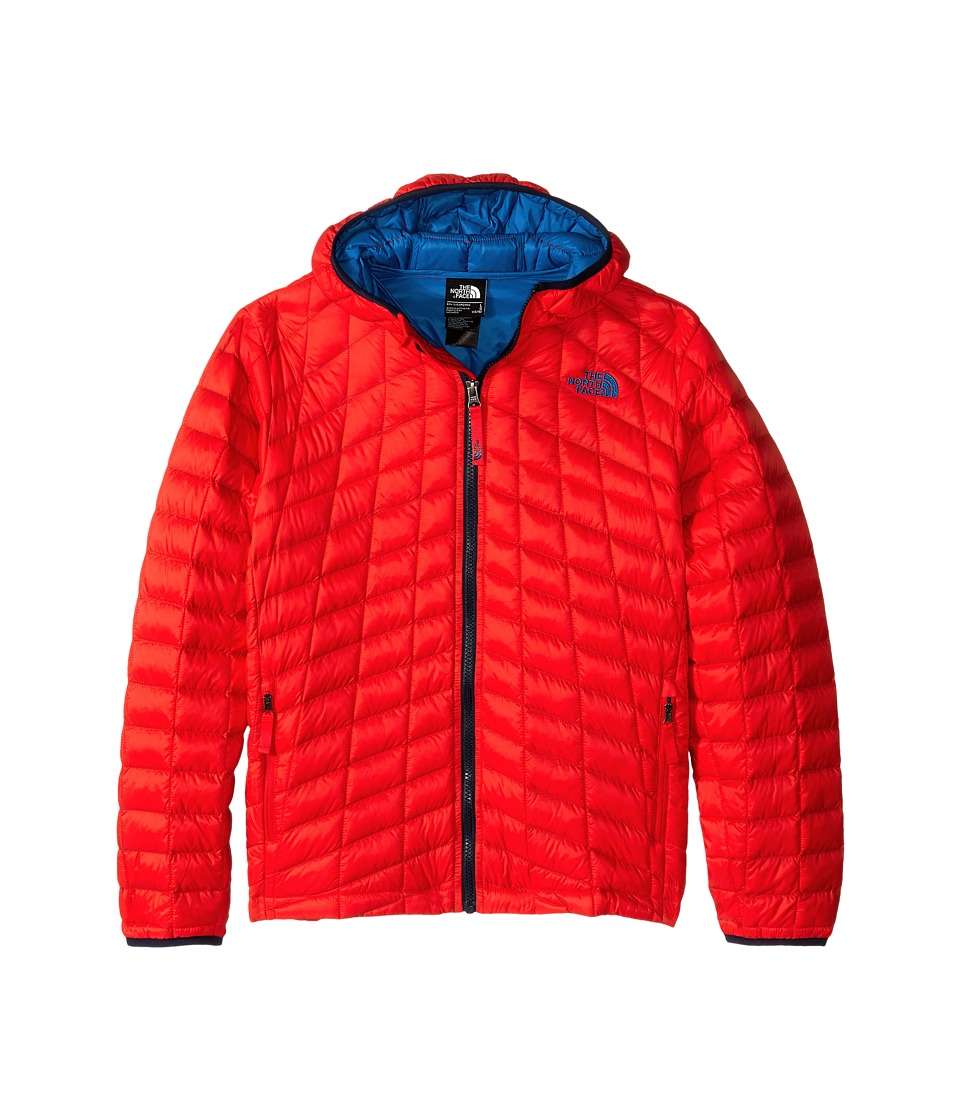 The North Face Kids - ThermoBall Hoodie (Little Kids/Big Kids) (Fiery Red) Boy's Coat