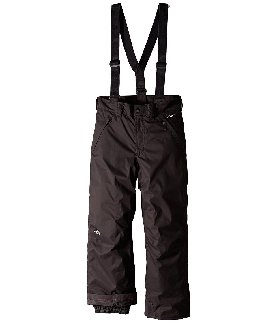 The North Face Kids - Snowquest Suspender Pants (Little Kids/Big Kids) (Graphite Grey) Boy