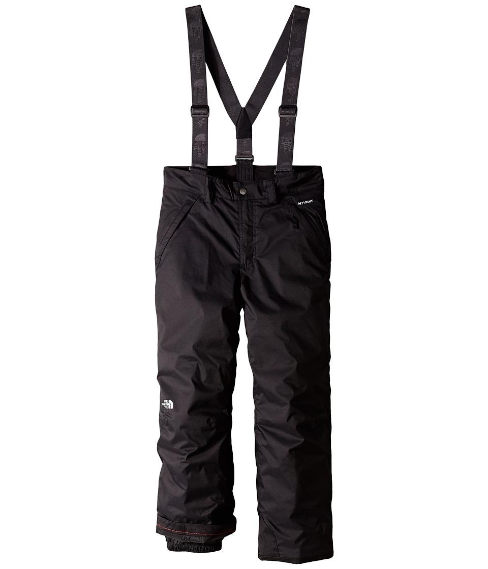 The North Face Kids - Snowquest Suspender Pants (Little Kids/Big Kids) (TNF Black) Boy's Outerwear