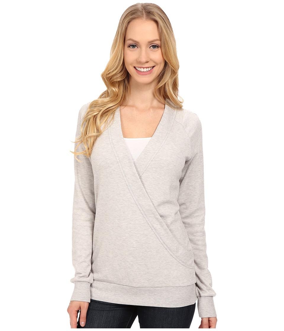 Lole - Sasmita Top (Warm Grey Heather) Women's Sweatshirt