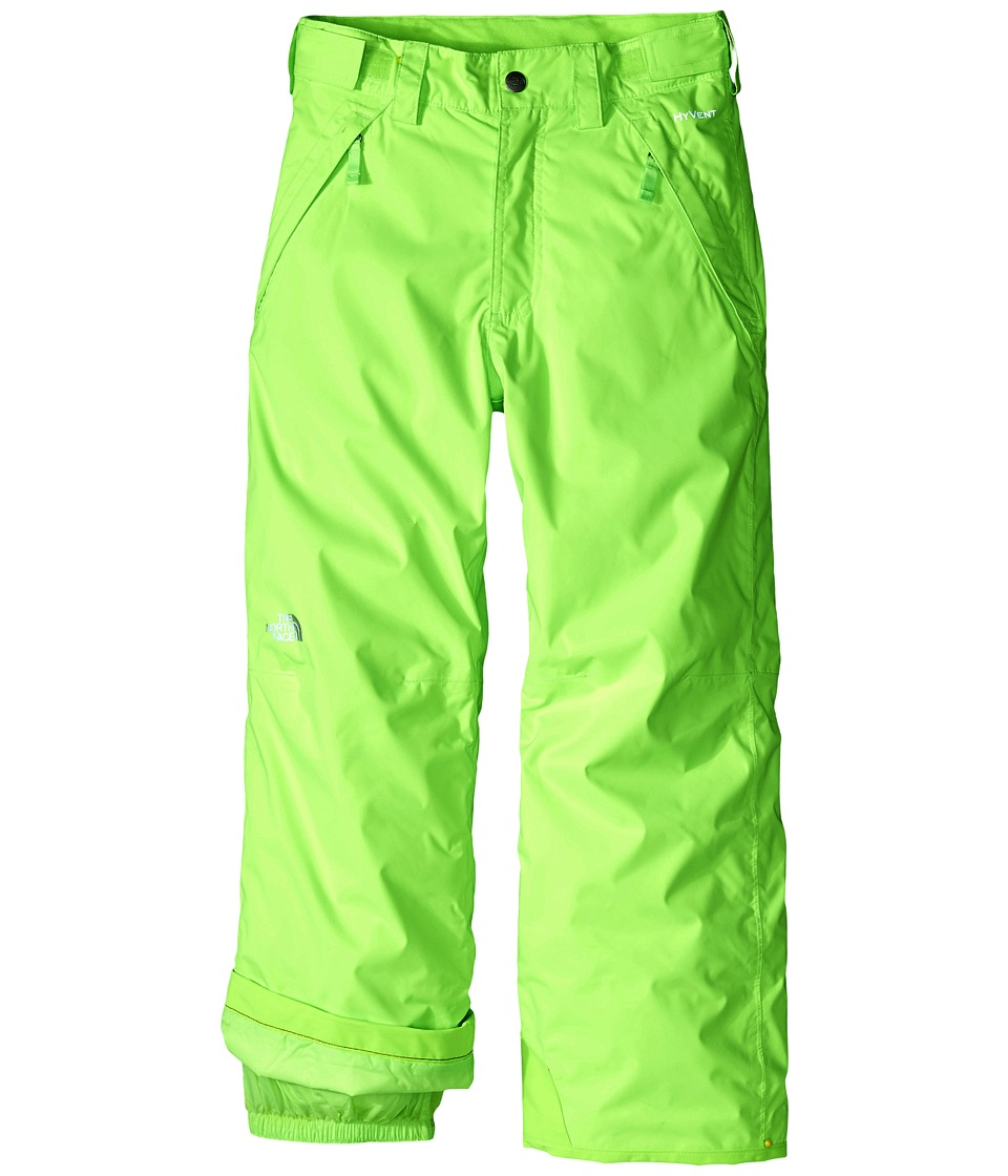 The North Face Kids - Freedom Insulated Pants (Little Kids/Big Kids) (Safety Green) Boy's Clothing