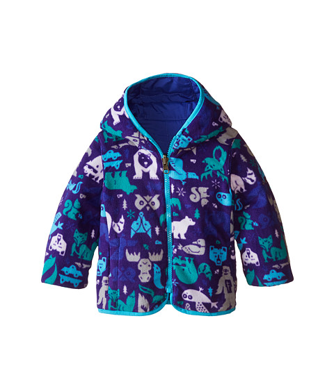 Columbia Kids - Double Trouble Jacket (Infant) (Light Grape/Atoll Animal Print) Kid's Coat