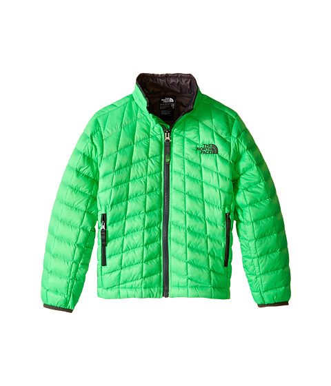 The North Face Kids - ThermoBall Full Zip Jacket (Little Kids/Big Kids) (Krypton Green) Boy's Coat