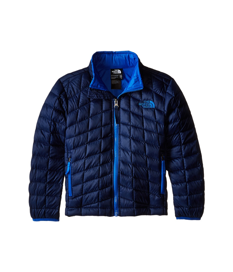 The North Face Kids - Thermoball Full Zip Jacket (Little Kids/Big Kids) (Cosmic Blue) Boy's Coat