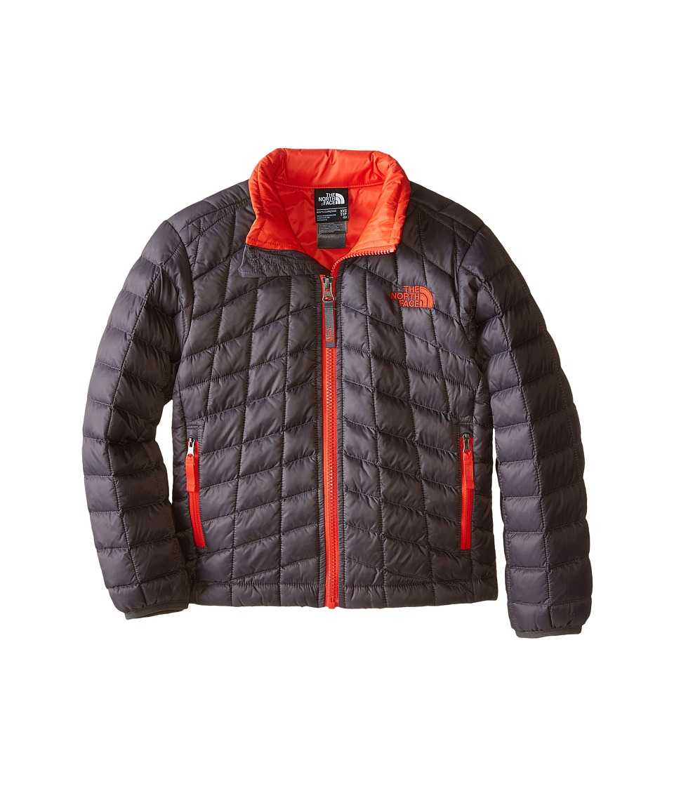 The North Face Kids - Thermoball Full Zip Jacket (Little Kids/Big Kids) (Graphite Grey) Boy's Coat