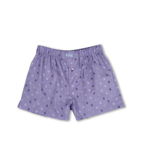 Original Penguin - Penguin Woven Boxer (Lavender) Men's Underwear