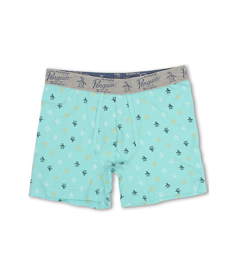 Original Penguin - Boxer Brief (Penguin Aqua) Men's Underwear
