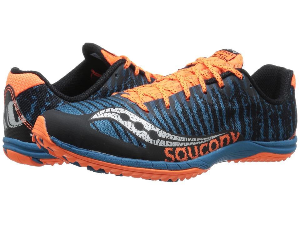 Saucony Kilkenny XC5 (Flat) (Royal/Black/Vizi Orange) Men
