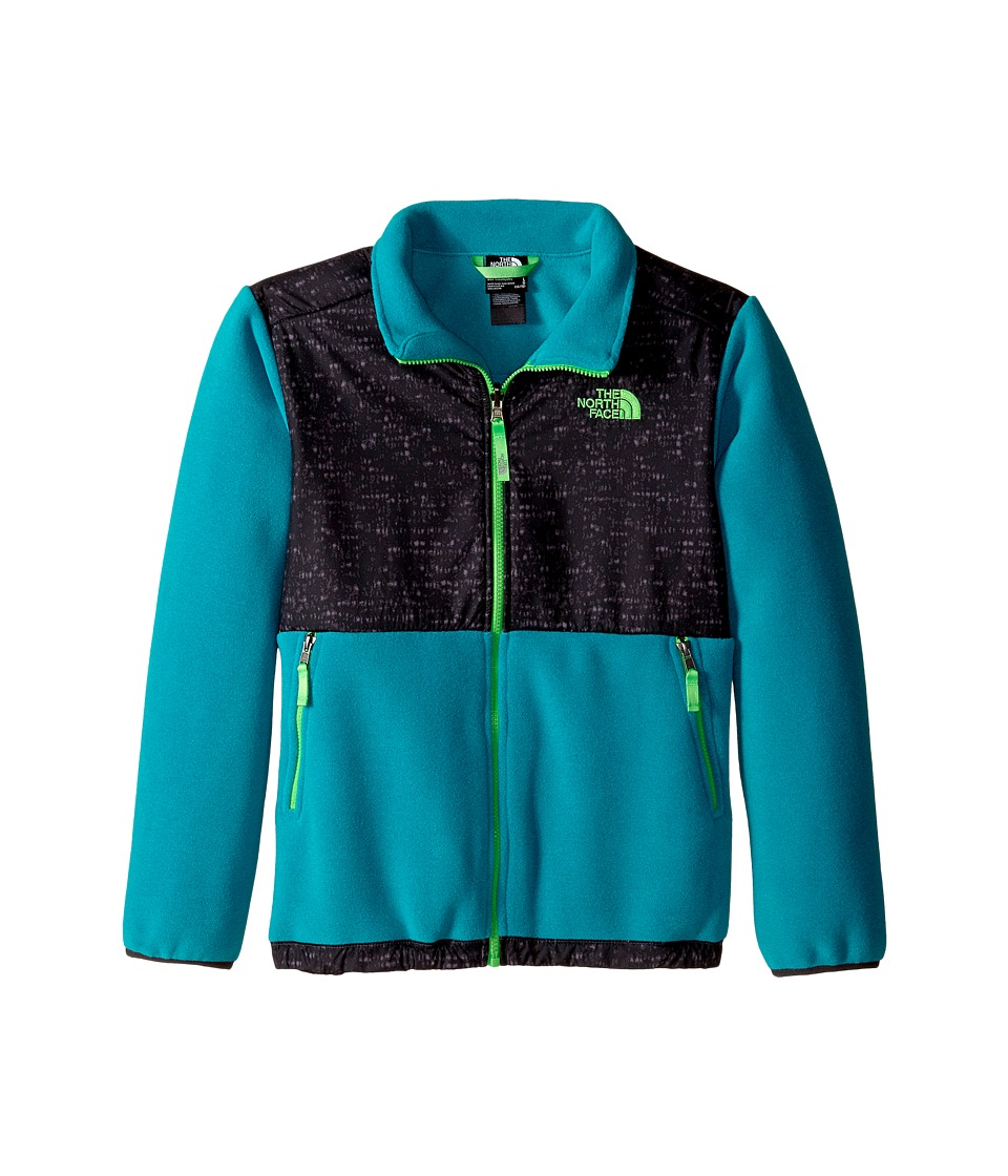 The North Face Kids - Denali Jacket (Little Kids/Big Kids) (Recycled Enamel Blue) Boy's Coat