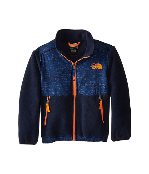 The North Face Kids - Denali Jacket (Little Kids/Big Kids) (Recycled Cosmic Blue Heather) Boy's Coat