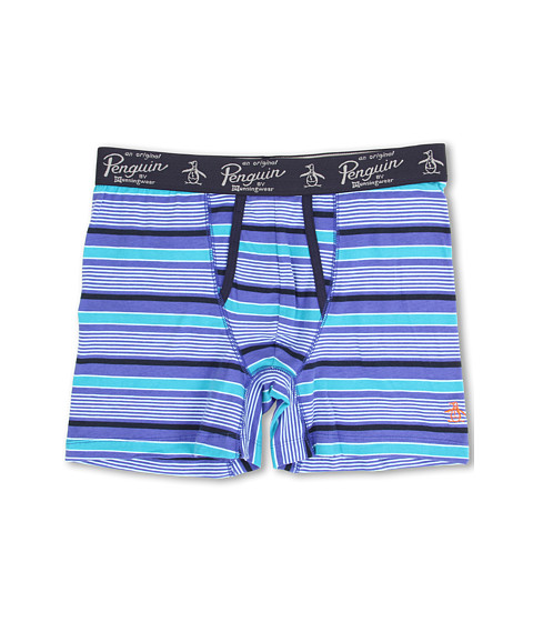 Original Penguin - Fashion Boxer Brief (Lavender Stripe) Men's Underwear