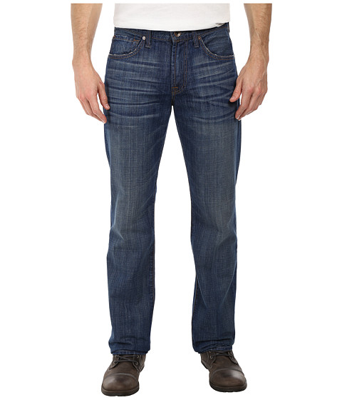 7 For All Mankind - Carsen Easy Straight w/ Clean Pocket in Shaded Sun (Shaded Sun) Men's Jeans