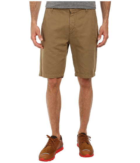 7 For All Mankind - Chino Shorts (Dark Khaki) Men's Shorts