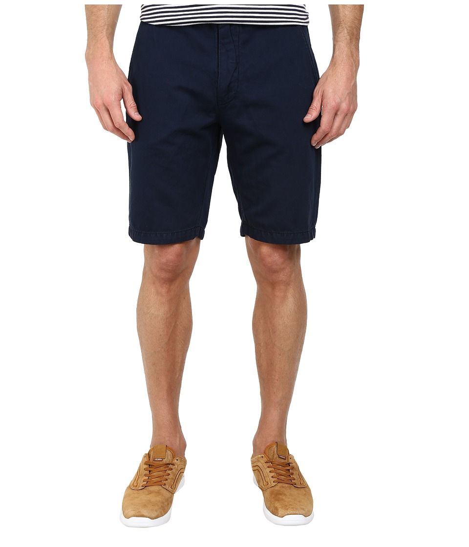 7 For All Mankind - Chino Shorts (Navy) Men's Shorts