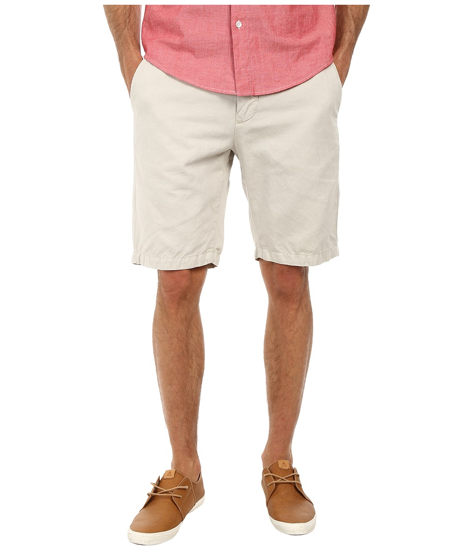 7 For All Mankind - Chino Shorts (White Sand) Men's Shorts